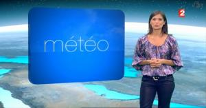 Tania Young à la Météo - 01/07/08 - 1