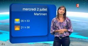 Tania Young à la Météo - 01/07/08 - 2