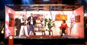 Verona Pooth et Bande Annonce dans Clever - 25/01/09 - 1