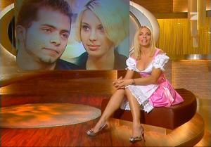 Sonya Kraus dans Talk Talk Talk - 06/10/07 - 2
