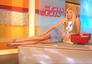 Sonya Kraus dans Talk Talk Talk - 11/03/05 - 5