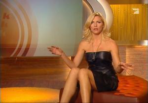 Sonya Kraus dans Talk Talk Talk - 15/12/07 - 2