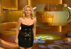 Sonya Kraus dans Talk Talk Talk - 16/02/08 - 5