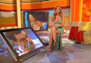 Sonya Kraus dans Talk Talk Talk - 18/02/05 - 4