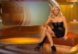 Sonya Kraus dans Talk Talk Talk - 26/01/08 - 2