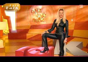 Sonya Kraus dans Talk Talk Talk - 31/12/06 - 7