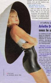 Arielle Dombasle - TV Mag - Fin 90 - HQ Brut
