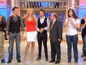Adriana Volpe dans Mezzogiorno In Famiglia - 28/03/09 - 2