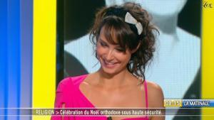 Julia Vignali dans la Matinale - 07/01/11 - 2