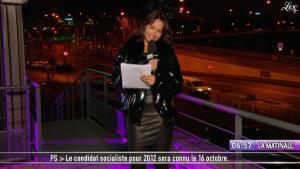Julia Vignali dans la Matinale - 12/01/11 - 1