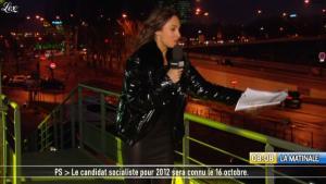 Julia Vignali dans la Matinale - 12/01/11 - 2