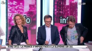 Caroline Roux dans la Matinale - 23/01/12 - 02