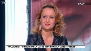 Caroline Roux dans la Matinale - 23/01/12 - 03