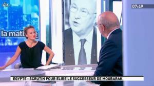 Caroline Roux dans la Matinale - 24/05/12 - 02