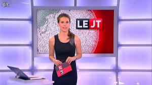 Emilie Besse dans le JT de Canal Plus - 16/07/12 - 02