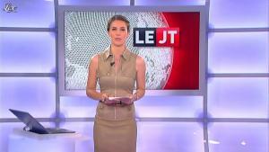 Emilie Besse dans le JT de Canal Plus - 17/07/12 - 01
