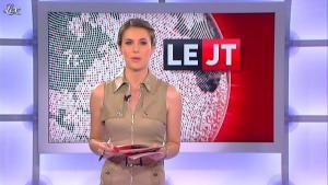 Emilie Besse dans le JT de Canal Plus - 17/07/12 - 02