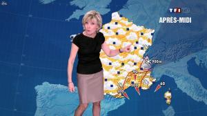 Evelyne Dhéliat à la Météo de 13h - 08/03/12 - 01