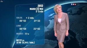 Evelyne Dhéliat à la Météo de 20h - 21/05/12 - 02