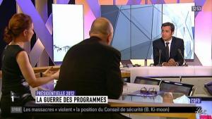 Guénaëlle Gault sur i-Télé - 07/04/12 - 02