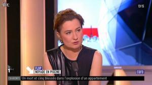 Guénaëlle Gault sur i-Télé - 07/04/12 - 04