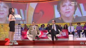 Lorena Bianchetti dans Italia Sul Due - 11/01/12 - 05