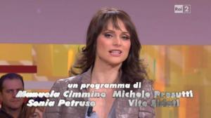 Lorena Bianchetti dans Italia Sul Due - 15/12/11 - 02