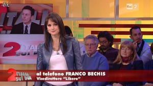 Lorena Bianchetti dans Italia Sul Due - 28/11/11 - 09