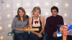 Louise Bourgoin dans le Grand Journal de Canal Plus - 05/07/12 - 01
