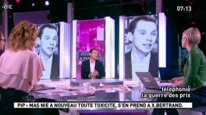 Maïtena Biraben et Caroline Roux dans la Matinale - 18/01/12 - 03