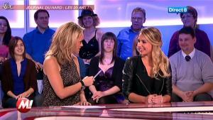 Mélanie Dagréo et Cécile de Menibus chez Morandini - 09/01/12 - 04