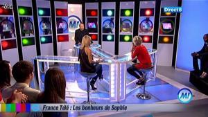 Sophie Davant chez Morandini - 01/06/11 - 01