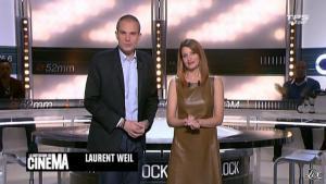 Valérie Amarou dans la Quotidienne du Cinema - 15/03/11 - 02