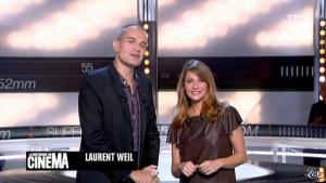 Valérie Amarou dans la Quotidienne du Cinema - 26/09/11 - 01