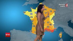 Anais Baydemir à la Météo de Minuit - 27/07/14 - 10