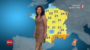 Anaïs Baydemir à la Météo de Minuit - 27/07/14 - 15