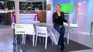 Anne-Sophie Lapix dans C à Vous - 14/01/14 - 01