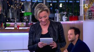 Anne-Sophie Lapix dans C à Vous - 14/01/14 - 04
