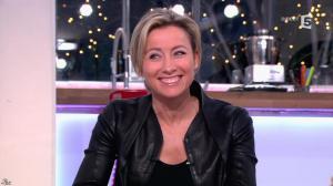 Anne-Sophie Lapix dans C à Vous - 14/01/14 - 07