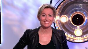 Anne-Sophie Lapix dans C à Vous - 14/01/14 - 20