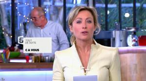 Anne-Sophie Lapix dans C à Vous - 25/02/14 - 02