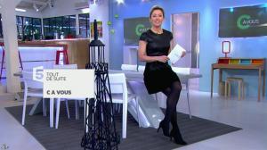 Anne-Sophie Lapix dans C à Vous - 26/02/14 - 01