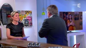 Anne-Sophie Lapix dans C à Vous - 26/02/14 - 11