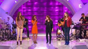 Camille Lou, Alexandra Maquet et Sonia Lacen dans les Chansons d'Abord - 11/06/14 - 14