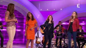 Camille Lou, Alexandra Maquet et Sonia Lacen dans les Chansons d'Abord - 11/06/14 - 18