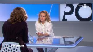 Caroline Roux dans C Politique - 02/03/14 - 06