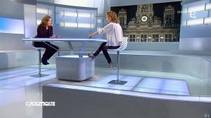 Caroline Roux dans C Politique - 02/03/14 - 13