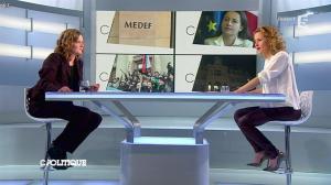 Caroline Roux dans C Politique - 02/03/14 - 25