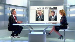 Caroline Roux dans C Politique - 13/04/14 - 19