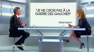 Caroline Roux dans C Politique - 13/04/14 - 25